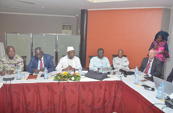 Première réunion du Comité Technique Permanent de l'Interconnexion (CTPI)