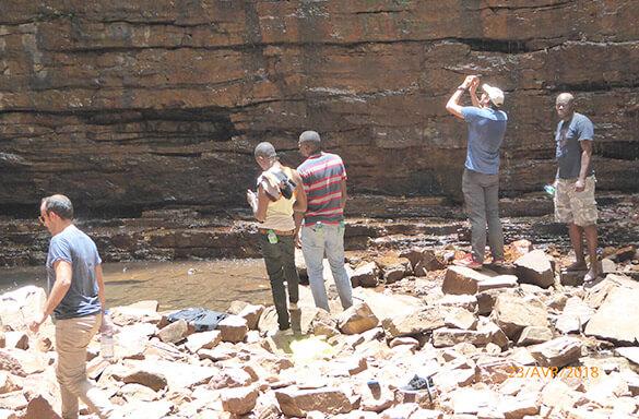 Visite du site de l'Aménagement hydroélectrique de Sambangalou