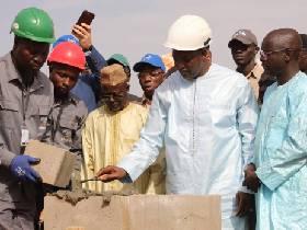 Cérémonie de lancement des travaux de la Ligne d'Interconnexion à Soma en Gambie
