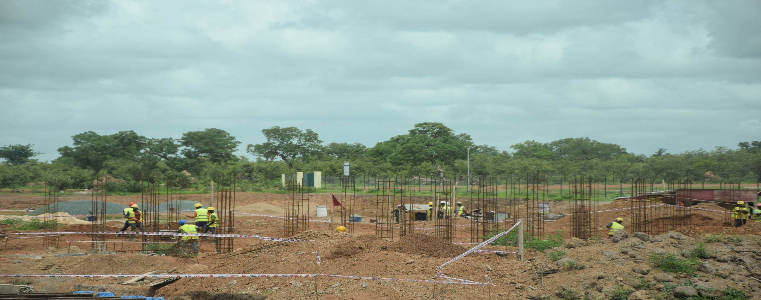 Chantier Projet Energie à Kédougou Projet Energie Tamba