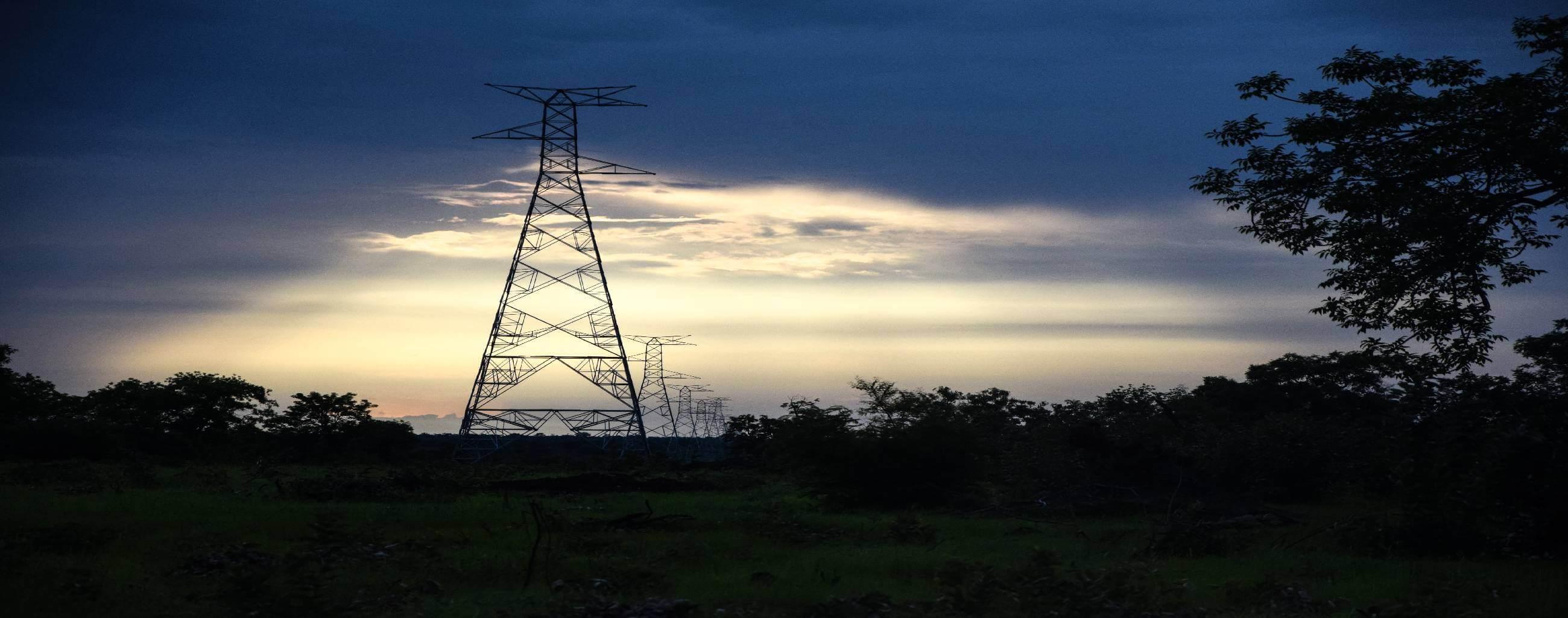 Colonnes de Pylônes à Tamba Projet Energie OMVG
