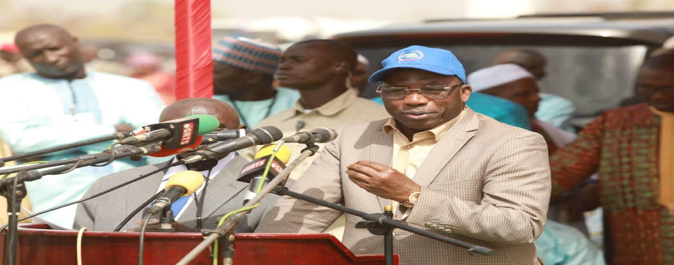 Haut-Commissaire à Soma Projet Energie OMVG