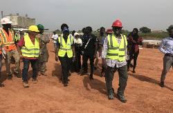 Visite de presse du Projet Energie OMVG en Gambie