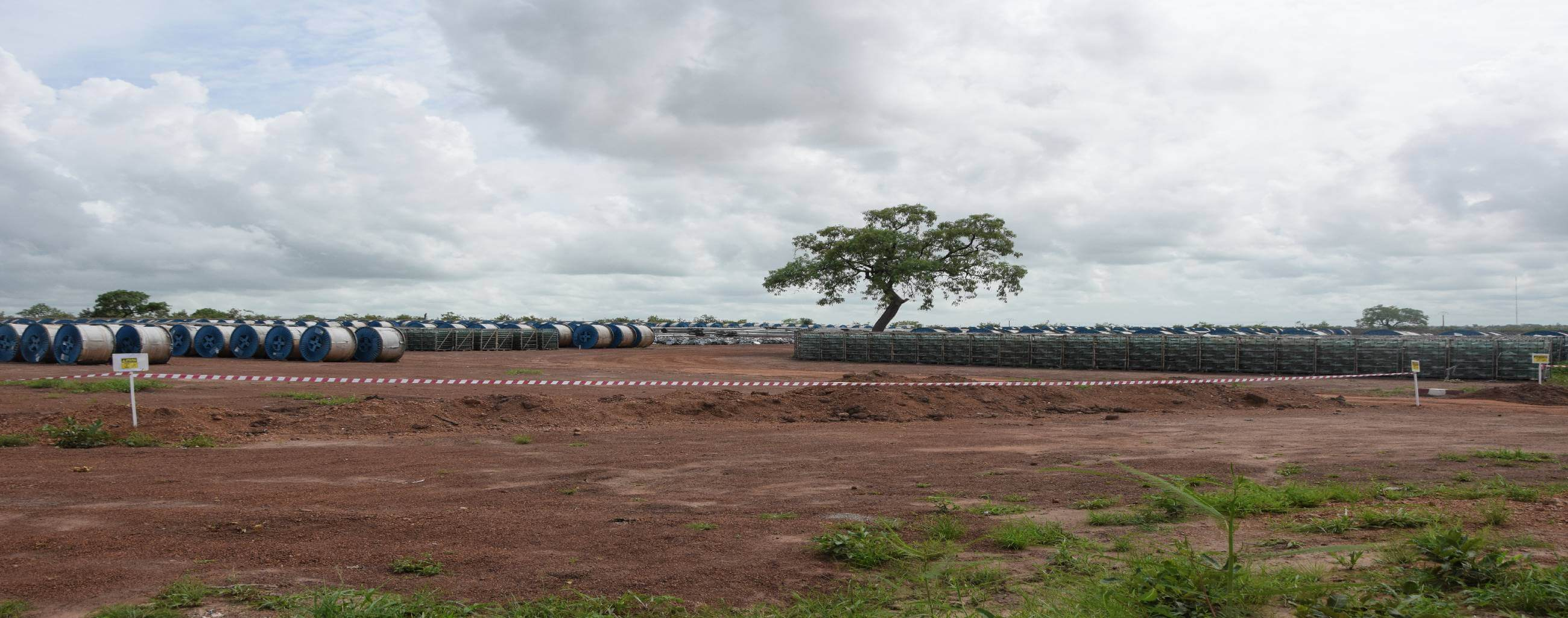 Site de stockage Projet Energie OMVG