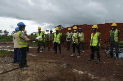 Sensibilisation des travailleurs à la COVID-19 sur les chantiers