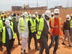 Visite Secrétaire Général OMVG aux autorités Bissau-guinéennes _ Juin 2021