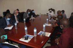 Mission d'urgence du Secrétaire Général de l'OMVG, M. Ababacar Ndao, en Guinée-Bissau