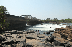 le fleuve Kouroubal de Saltinho